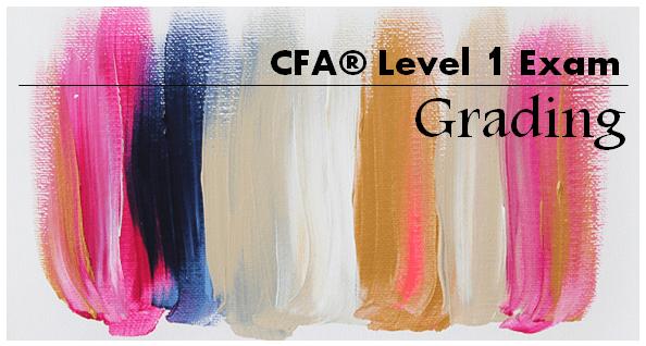 How CFA Level 1 exam is graded?