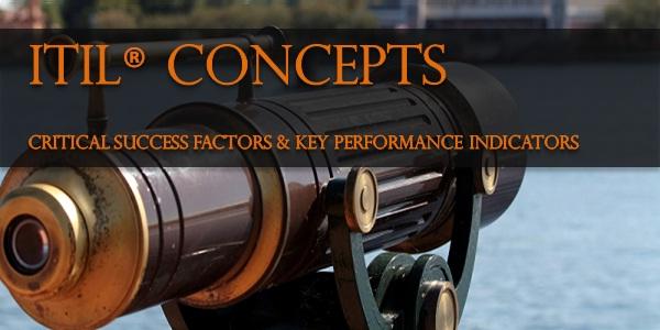 ITIL® – CSF &amp  KPIs
