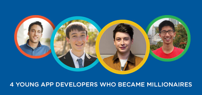 4 Young App Developers Who Became Millionaires | Simplilearn