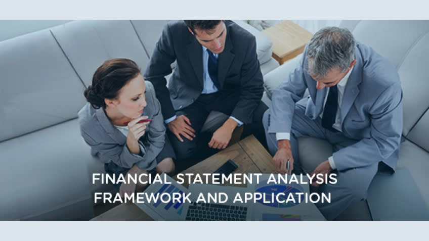 Financial Statement Analysis - Framework and Application