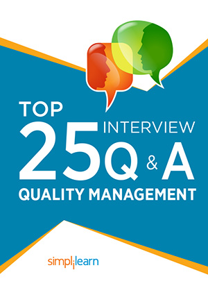 Free eBook: Top 25 Interview Questions and Answers: Quality Management