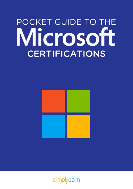 Free eBook: Pocket Guide to the Microsoft Certifications
