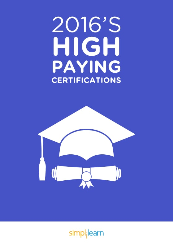 Free eBook: 2016 High Paying Certifications