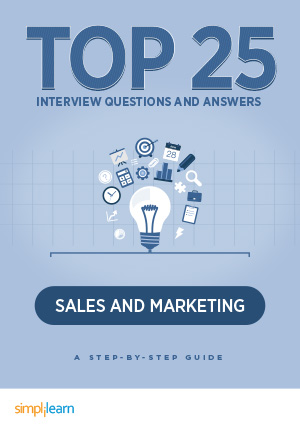 Free eBook: Top 25 Interview Questions & Answers: Sales and Marketing