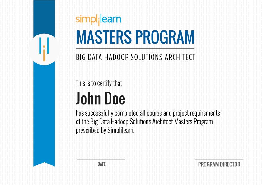 Big Data Training Big Data Training Simplilearn